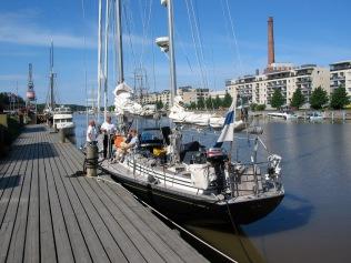 The Aura River in Turku.