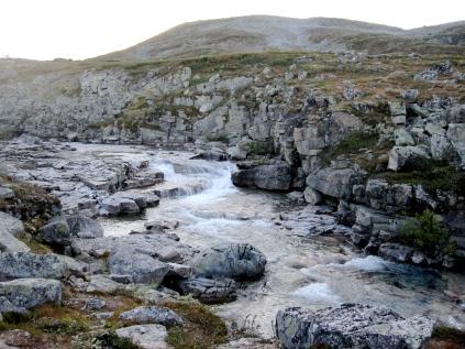 Bierfejohka before Meekonjärvi.